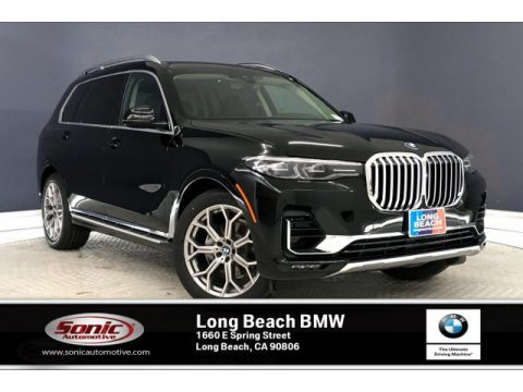 Jet Black BMW X7 xDrive40i.  Click to enlarge.