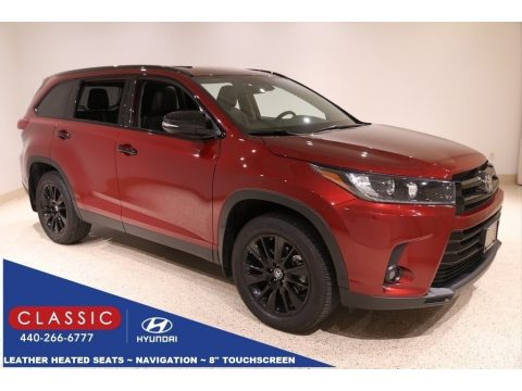Salsa Red Pearl Toyota Highlander SE AWD.  Click to enlarge.