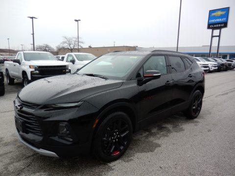 Black Chevrolet Blazer LT AWD.  Click to enlarge.