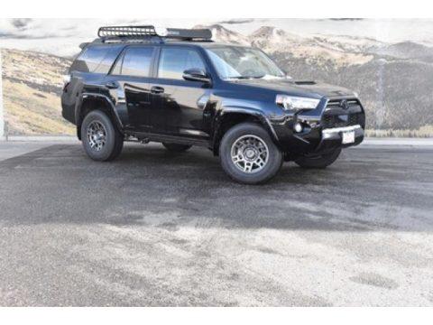 Midnight Black Metallic Toyota 4Runner Venture Edition 4x4.  Click to enlarge.