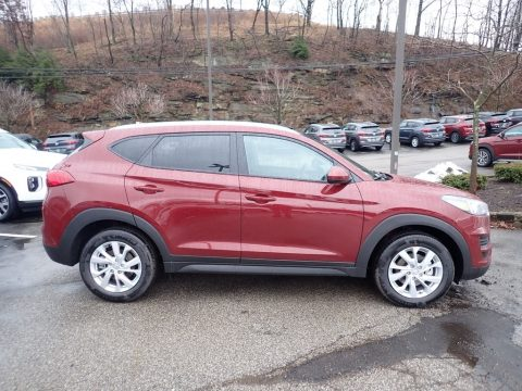 Gemstone Red Hyundai Tucson Value AWD.  Click to enlarge.