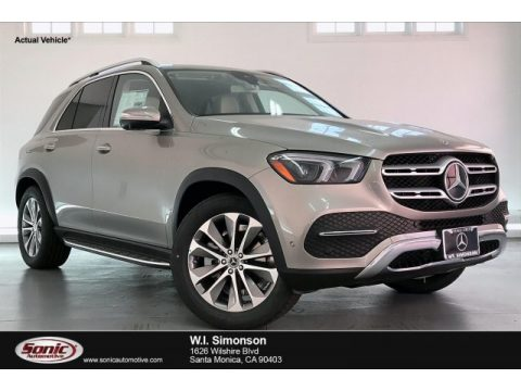Mojave Silver Metallic Mercedes-Benz GLE 350.  Click to enlarge.