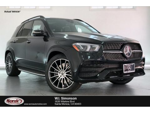 Black Mercedes-Benz GLE 580 4Matic.  Click to enlarge.