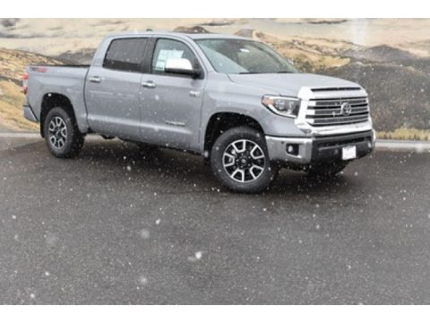 Cement Toyota Tundra Limited CrewMax 4x4.  Click to enlarge.