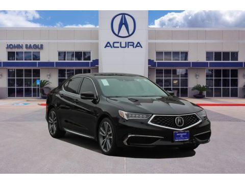 Majestic Black Pearl Acura TLX V6 Technology Sedan.  Click to enlarge.