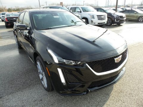 Black Raven Cadillac CT5 Sport AWD.  Click to enlarge.