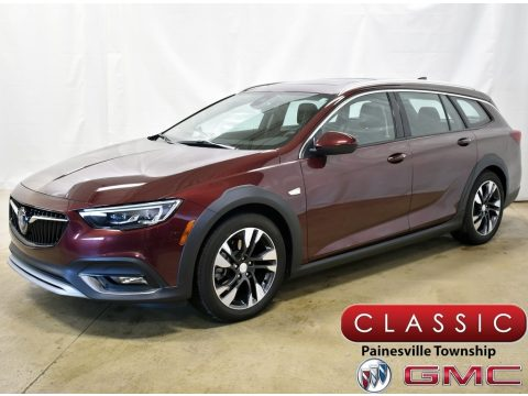 Rioja Red Metallic Buick Regal TourX Essence AWD.  Click to enlarge.