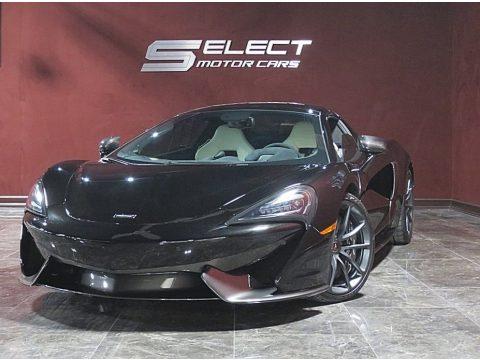 Onyx Black McLaren 570S Spider.  Click to enlarge.