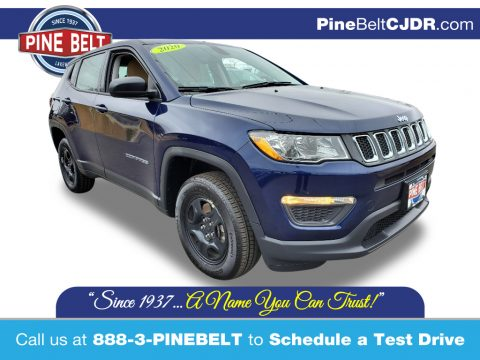 Jazz Blue Pearl Jeep Compass Sport 4x4.  Click to enlarge.