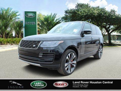 Santorini Black Metallic Land Rover Range Rover SV Autobiography.  Click to enlarge.
