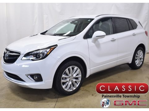 Summit White Buick Envision Preferred AWD.  Click to enlarge.