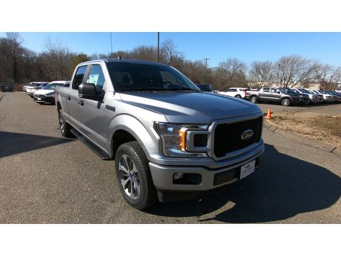 Iconic Silver Ford F150 STX SuperCrew 4x4.  Click to enlarge.