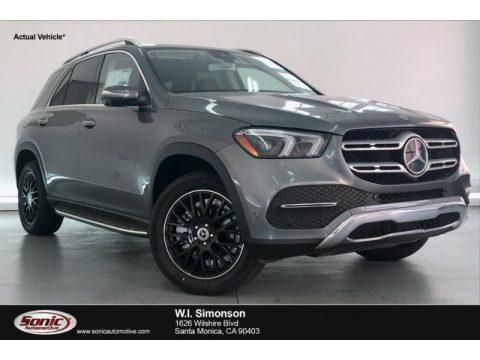 Selenite Grey Metallic Mercedes-Benz GLE 350 4Matic.  Click to enlarge.