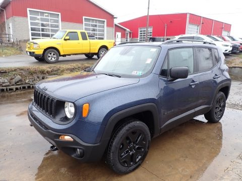 Slate Blue Pearl Jeep Renegade Sport 4x4.  Click to enlarge.
