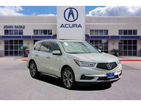 Platinum White Pearl Acura MDX Technology.  Click to enlarge.