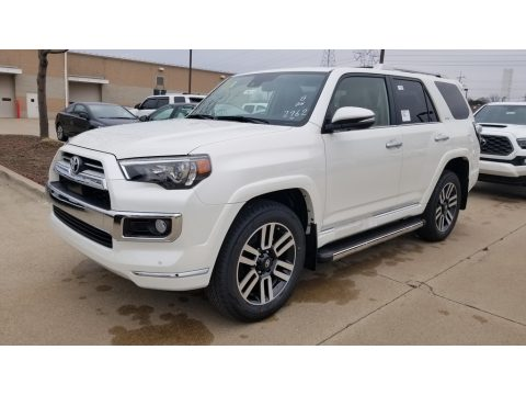 Blizzard White Pearl Toyota 4Runner Limited 4x4.  Click to enlarge.