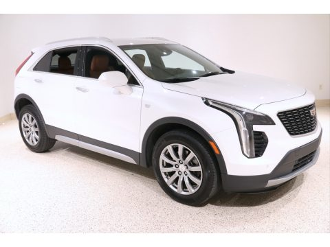 Crystal White Tricoat Cadillac XT4 Premium Luxury AWD.  Click to enlarge.