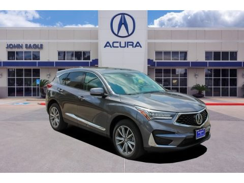 Modern Steel Metallic Acura RDX Technology.  Click to enlarge.