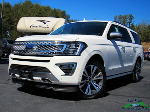 Star White Ford Expedition Platinum Max 4x4.  Click to enlarge.