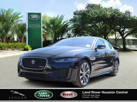 Santorini Black Metallic Jaguar XE R-Dynamic S AWD.  Click to enlarge.