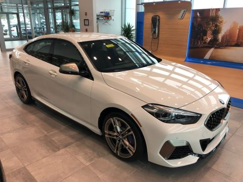 Alpine White BMW 2 Series M235i xDrive Grand Coupe.  Click to enlarge.