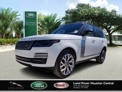Fuji White Land Rover Range Rover HSE.  Click to enlarge.
