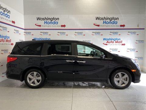 Crystal Black Pearl Honda Odyssey EX-L.  Click to enlarge.