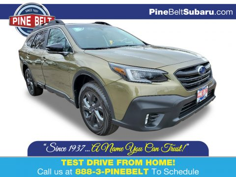 Autumn Green Metallic Subaru Outback Onyx Edition XT.  Click to enlarge.