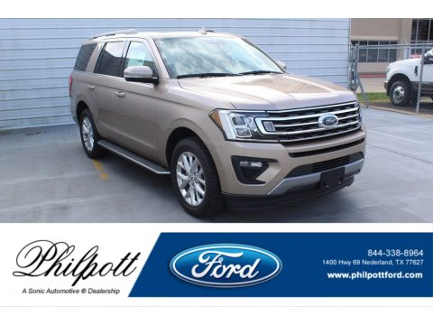 Desert Gold Ford Expedition XLT.  Click to enlarge.