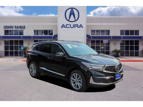 Majestic Black Pearl Acura RDX Technology.  Click to enlarge.