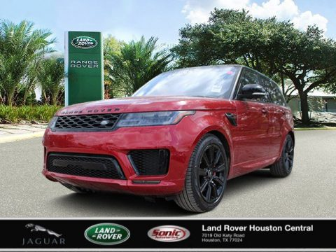 Firenze Red Metallic Land Rover Range Rover Sport HST.  Click to enlarge.
