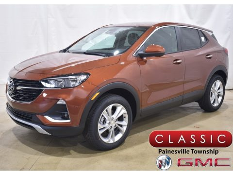 Burnished Bronze Metallic Buick Encore GX Preferred AWD.  Click to enlarge.