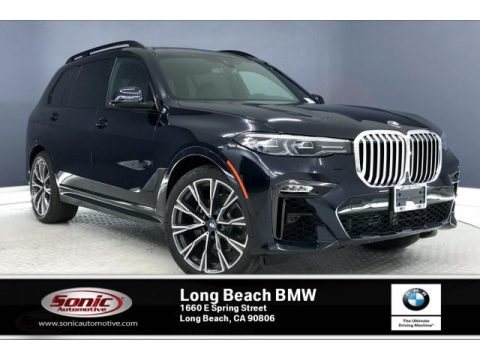 Carbon Black Metallic BMW X7 xDrive40i.  Click to enlarge.