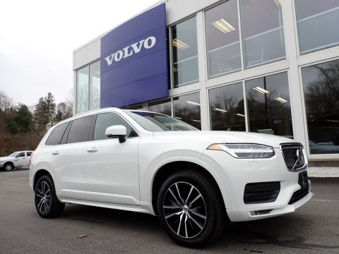 Crystal White Metallic Volvo XC90 T6 AWD Momentum.  Click to enlarge.