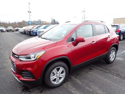 Cajun Red Tintcoat Chevrolet Trax LT AWD.  Click to enlarge.