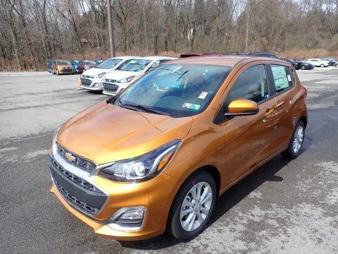 Orange Burst Metallic Chevrolet Spark LT.  Click to enlarge.