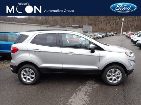 Moondust Silver Metallic Ford EcoSport SE 4WD.  Click to enlarge.