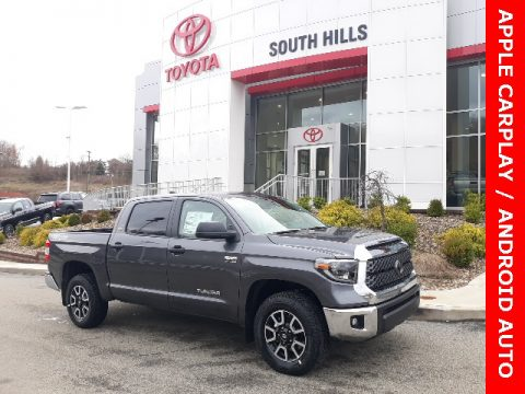 Magnetic Gray Metallic Toyota Tundra TRD Off Road CrewMax 4x4.  Click to enlarge.