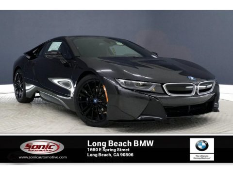 Sophisto Grey Metallic BMW i8 Coupe.  Click to enlarge.