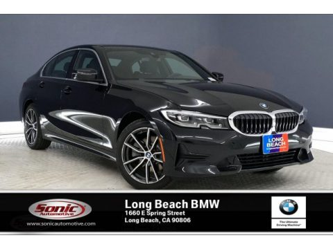 Black Sapphire Metallic BMW 3 Series 330i Sedan.  Click to enlarge.