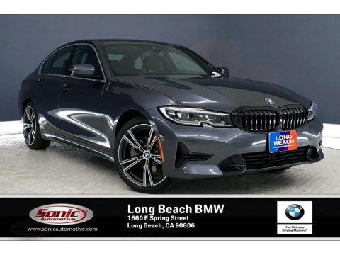 Mineral Grey Metallic BMW 3 Series 330i Sedan.  Click to enlarge.