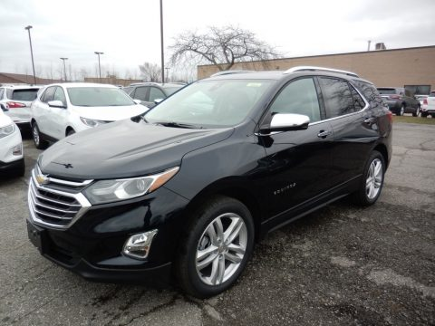 Midnight Blue Metallic Chevrolet Equinox Premier AWD.  Click to enlarge.