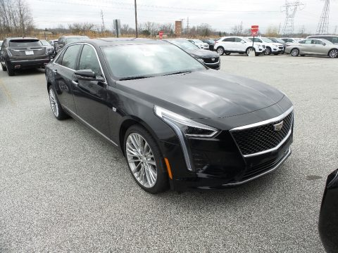 Black Raven Cadillac CT6 Luxury AWD.  Click to enlarge.
