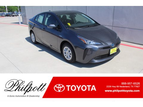 Magnetic Gray Metallic Toyota Prius LE.  Click to enlarge.