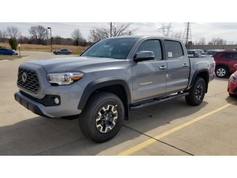 Cement Toyota Tacoma TRD Off Road Double Cab 4x4.  Click to enlarge.