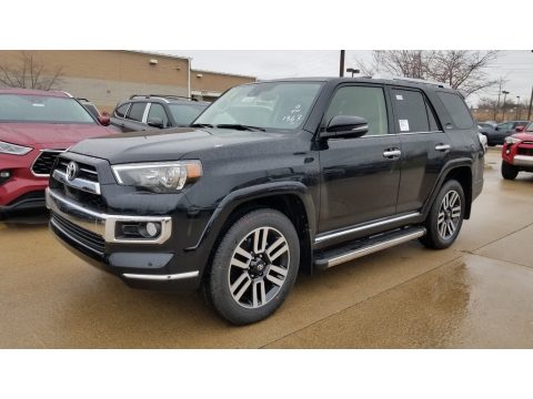 Midnight Black Metallic Toyota 4Runner Limited 4x4.  Click to enlarge.