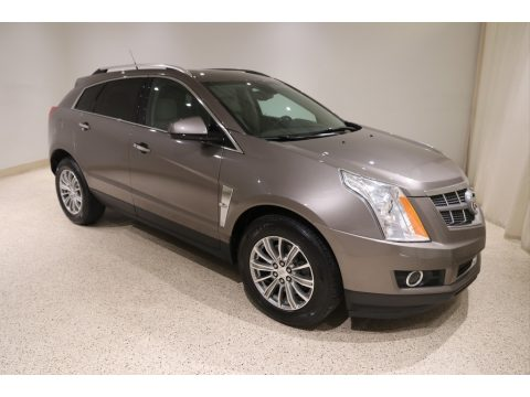 Mocha Steel Metallic Cadillac SRX Performance AWD.  Click to enlarge.