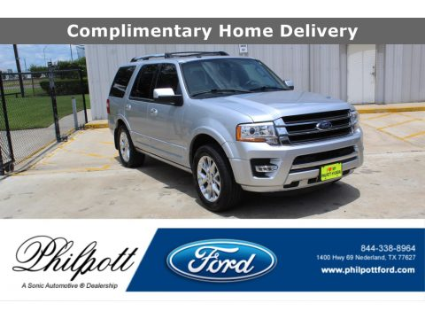Ingot Silver Ford Expedition Limited.  Click to enlarge.
