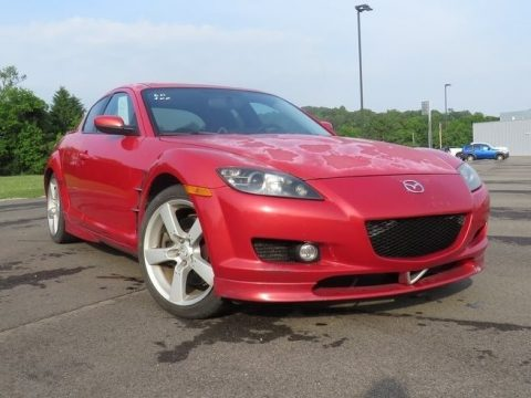 Velocity Red Mica Mazda RX-8 Sport.  Click to enlarge.