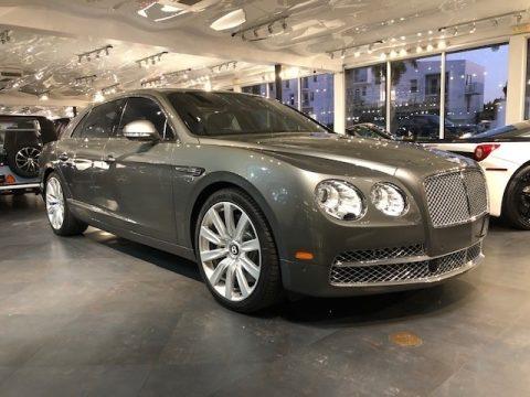 Titan Gray Metallic Bentley Flying Spur W12.  Click to enlarge.
